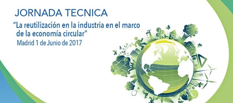"""Éxito en la convocatoria en la jornada sobre """"La reutilización en la industria en el marco de la economía circular"""""""