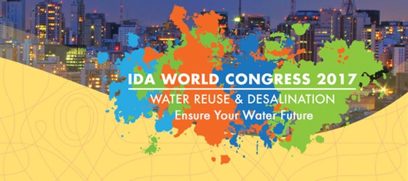 IDA WORLD CONGRESS 2017 – Water Reuse & Desalination