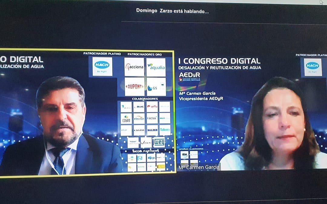 La Sesión 4 del Primer Congreso Digital se cierra con más de 820 inscritos e interesantes debates