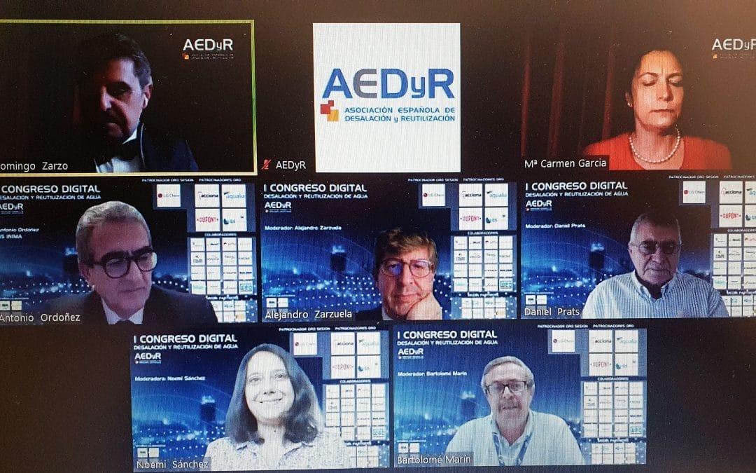 La Sesión 6 del Primer Congreso Digital se cierra con más de 920 Inscritos e interesantes debates